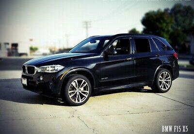 WellVisors For 07-18 BMW E70 X5 BLACK Trim Side Window Visors Rain Deflectors