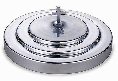 Polished Aluminum Communion Tray Cover NEW  (KC163)