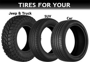 Tire sale on now