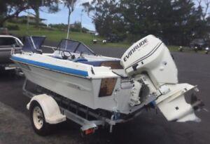 115hp Evinrude Etec outboard