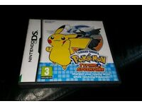 Pokemon typing adventure ds game