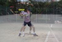 Private Tennis lessons for beginners to level 2.5
