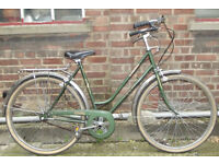 Vintage ladies dutch bike PEUGEOT - 3 speed size 19in, new brakes, serviced - Welcome for ride :)
