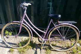 Vintage ladies dutch bike RALEIGH CAPRICE 3 speed size 20 NEW brakes / serviced / warranty