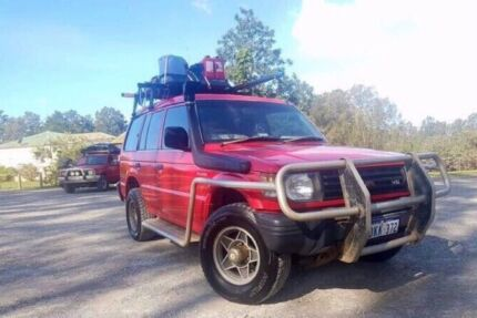 Equipped backpacker car