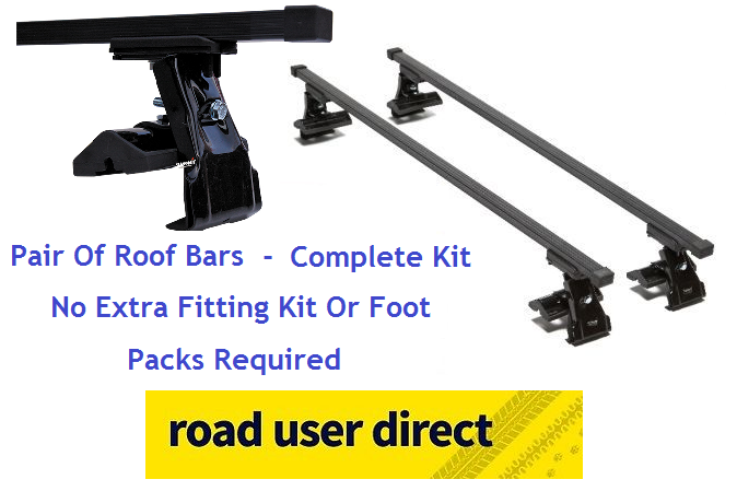 Nissan Kubistar Roof Bars - Complete Kit - Click For Fitments - 108 - summit leisure - ebay.co.uk