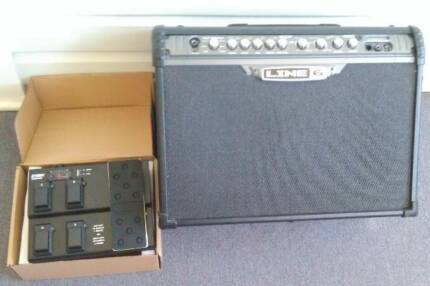 Line 6 Spider III 120W Guitar Amp + FBV Express II Pedal Control East Lismore Lismore Area Preview