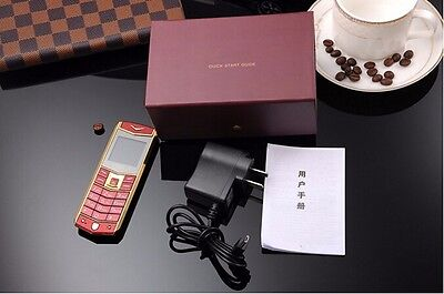 Unlocked Luxury A8 Mobile Phone Dual SIM 1.5 Inch Mini Metal Body Mobile Phone