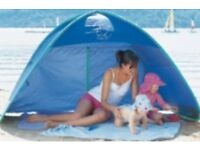 Play tent / shelter (UPF 50+ ideal for protecting your family from sun/wind/rain).
