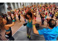 Zumba Fitness Monday's & Wednesdays