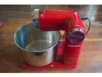 Morphy Richards Accents Folding Stand Mixer 400404 Red 300 W Motor 3.5ltr Bow