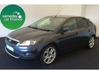 £133.96 PER MONTH GREY 2009 FORD FOCUS 2.0 TITANIUM 5 DOOR HATCHBACK PETROL