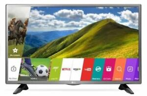 "32"" LG LED Smart TV with built-in Wi-Fi - Like new."