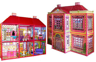 XXL Barbie Haus mit möbel !!! 108 x 37 x 94 cm NEU