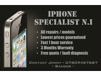 iPhone Repair / Repairs / Unlocking - 4 / 4S / 5 / 5C / 5S / 6 - All with 6 Months Warranty
