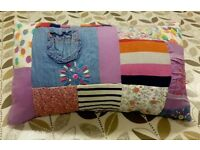 Patchwork, Memory Cushion / Blanket Class