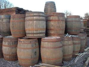 I am looking for old wood barrels or 1/2 barrels