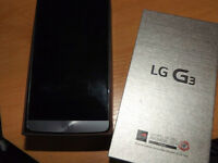 ★★ LG G3 32gb Like new with box and Extras - Unlocked ★★