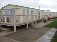 Caravan for hire COASTFIELDS holiday village Ingoldmells Skegness