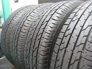 205/60/16  Bridgestone Turanza EL400 All Season 4 used tires, 75% tread left