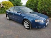 2005 AUDI A4 SE TDI 4 Door Blue
