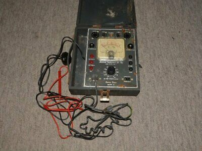 Vintage Vacuum Tube Utility Tester Accurate Instrument Model 161 Utility Tester