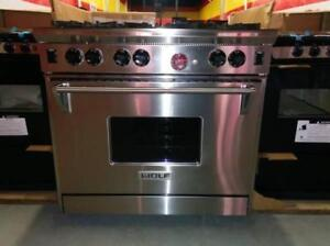 GAS STOVES WHITE & STAINLESS STEEL RANGES 1 YEAR WARRANTY