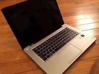 Lenovo Ideapad U410 laptop 500gb hd 8GB RAM Intel Core i3 3rd generation CPU Nvidia 610m graphics