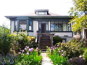SUBLET - June 16 - August 5 - 2 Rm. Apt. in Character House