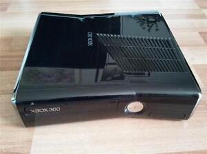 M0DD3D SLIM 16GB BLACK XBOX 360 SYSTEM WITH 31 BACKUP GAMES