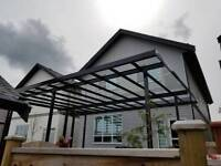 Patio Cover - Glass / Aluminum for Sundeck / Patios + Sunrooms