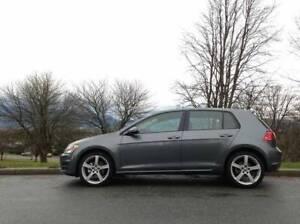 Grey 2015 Volkswagen Golf Trendline 5 dr HB 5 spd - $16500