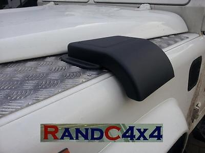 Land Rover Defender Wing Top Heater Air Intake Grill Snow Cowl Cover Scoop Left