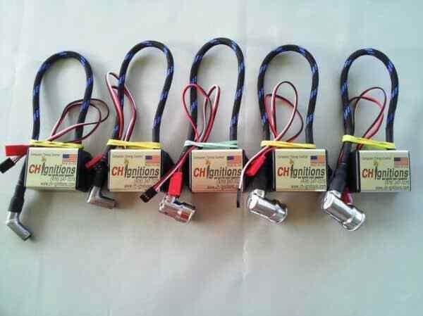 CDI - Straight CM-6 Spark Plug Cap Single Cylinder Ignition