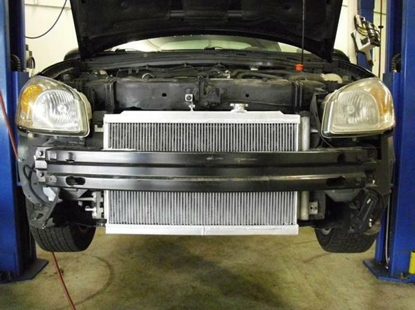 Details about 2005-07 Chevy Cobalt 2 0 SS ZZPerformance Supercharger  Stealth Heat Exchanger
