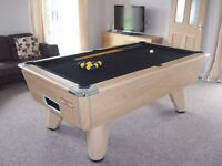 Supreme Winner Pool table. Immaculate condition
