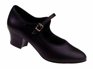 Freed of London Cuban Heel Character Shoe (LBB2) 7UK