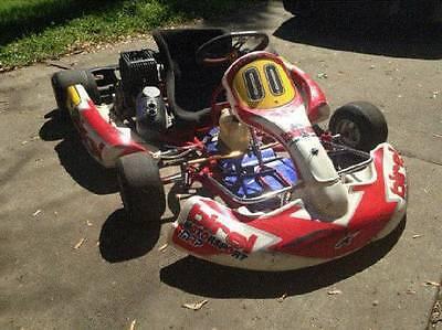 Used, Birel CQ31 racing kart with Yamaha KT100 engine   Shifter TAG for sale  New Carlisle
