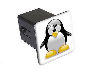 "Penguin - Snow Bird - 2"" Tow Trailer Hitch Cover Plug Insert"