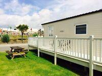 Trecco Bay 3 bedroom CENTRAL caravan to hire with veranda MARCH OFFER JUST £99