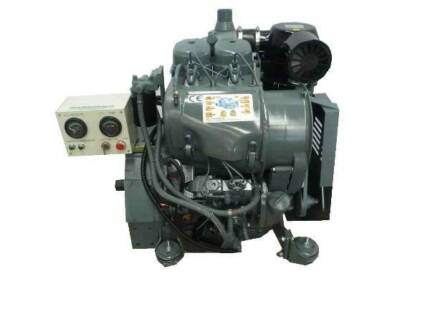 BRAND NEW 27HP COMPLETE 2 CYLINDER AIR COOLED DIESEL ENGINE