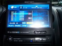 "D1301 EONON 1 DIN 7"" LCD MOTORIZED MP3 CD DVD PLAYER TOUCHSCREEN BLUETOOTH USB SD car dvd player"
