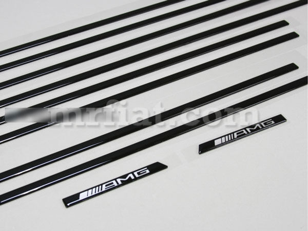 Mercedes G-wagon Genuine Amg W463 G500 G550 G63 G65 Black Trim Molding Kit New