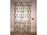 Long fully lined curtains - Laura Ashley Fabric