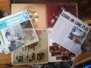Vintage Record Albums Beatles, REO Speedwagon