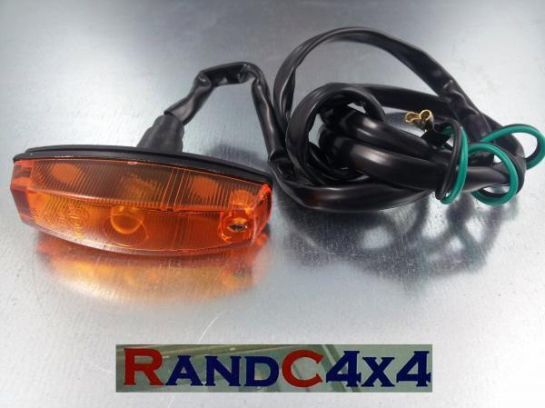 589143 Land Rover Defender Early Side Repeater Indicator Wing Lamp to '88