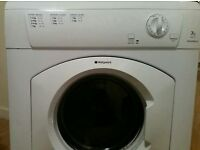Hotpoint vented dryer 7kg fully working order