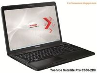 Toshiba Sat Pro C660-2DH 15.6 inch Laptop