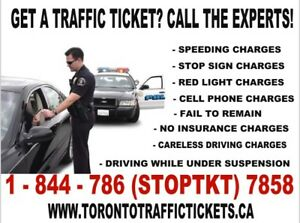 WE FIGHT TRAFFIC TICKETS - CALL US FOR HELP AT 1-844-786-7858