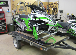 Folding Trailer : utility, motorcycle, snowmobile, atv, boat